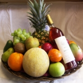 Fruit  Basket + Wine