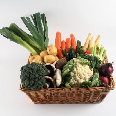 Vegetable Gift Basket
