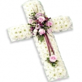 Funeral Tribute - Small Cross